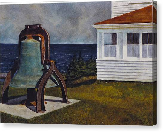 Island Bell Canvas Print