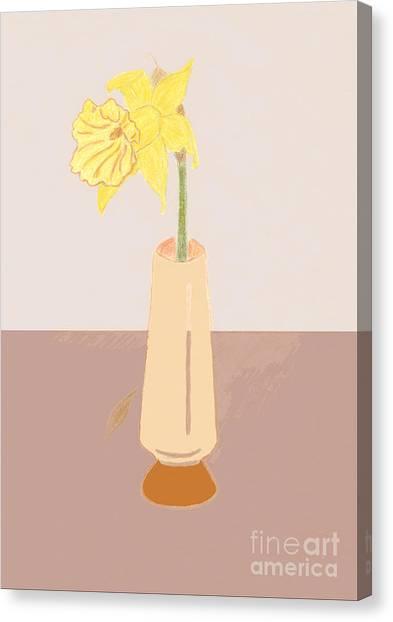 Island Daffodil Canvas Print