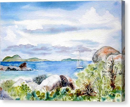Island Memories Canvas Print