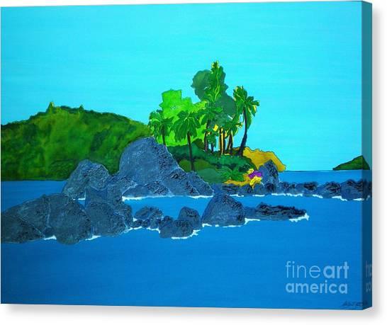 Island Canvas Print by Michaela Bautz