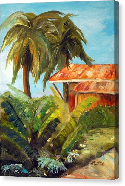 Island Sugar Shack Canvas Print