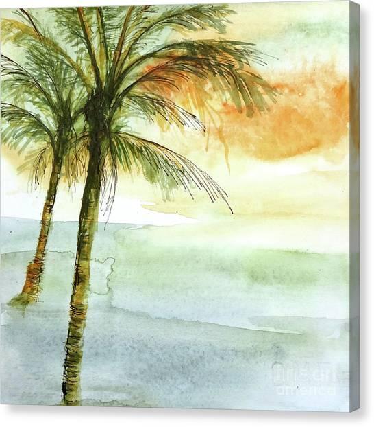 Canvas Print - Island Sunset II by Chris Paschke