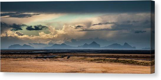 Islands In The Sky Canvas Print