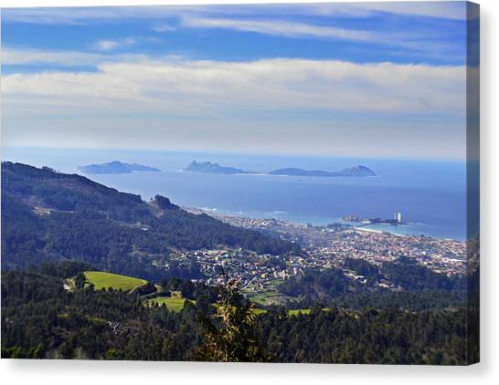 Heaven Canvas Print - Islas Cies by Taly Amoedo