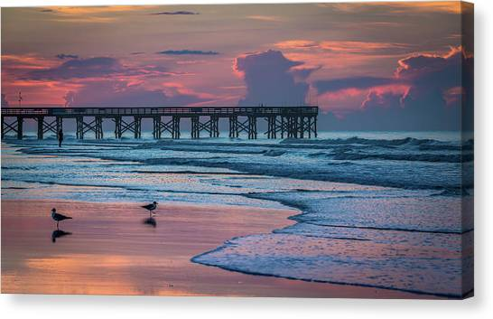 Isle Of Palms Morning Canvas Print