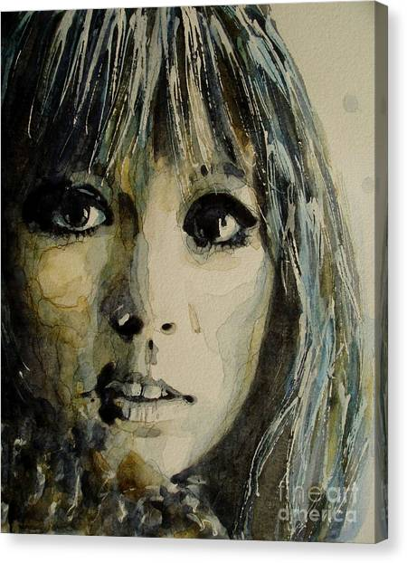 Eric Clapton Canvas Print - Isnt't It Pity by Paul Lovering