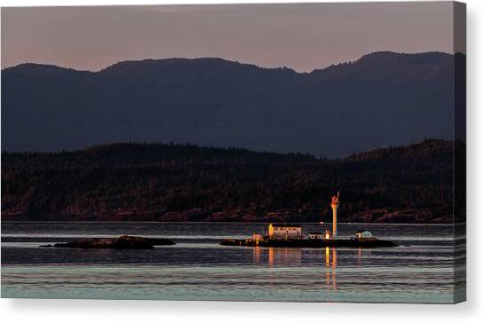 Isolated Lighthouse Canvas Print