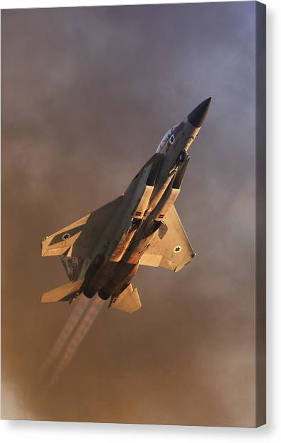 Israeli Air Force F-15i Canvas Print