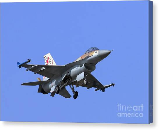 Israeli Air Force F-16c #307 Canvas Print