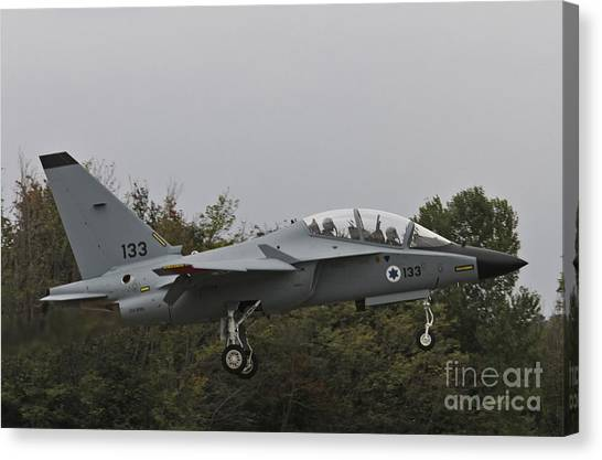 Israeli Air Force M-346i Lavi #133 Canvas Print