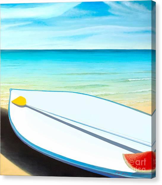 Israeli Summer Canvas Print