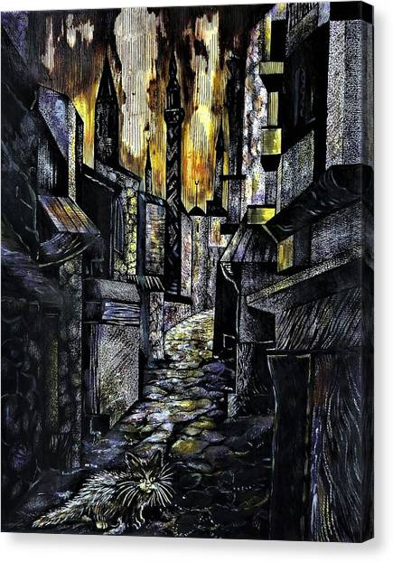 Istanbul Impressions. Lost In The City. Canvas Print