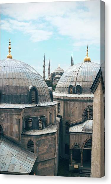 Istanbul Mosque Canvas Print
