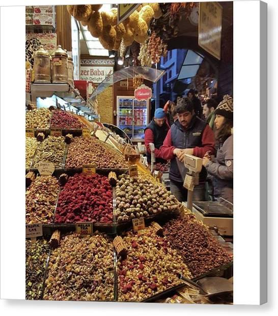 Yen Canvas Print - #istanbul #spicemarket by Yen Ong