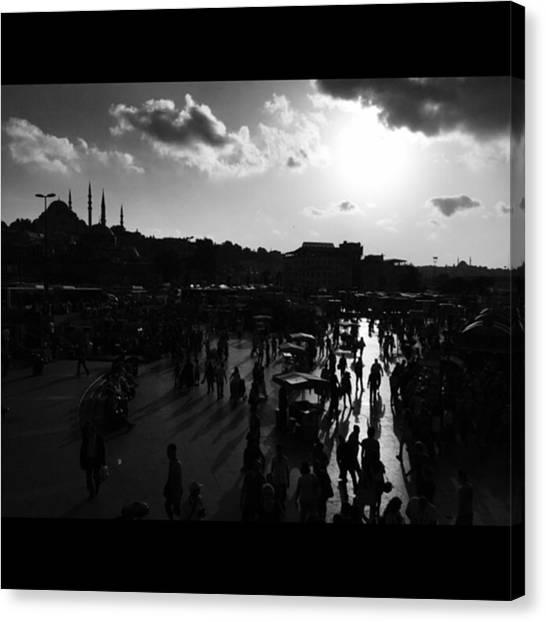 Turkish Canvas Print - #istanbul #turkey #streetphotography by Ozan Goren