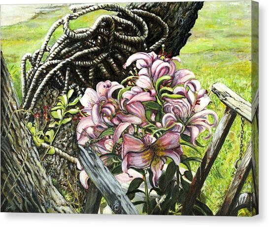 It A Jungle Canvas Print by Leo Malboeuf