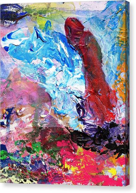 It Is A Hard Question Canvas Print by Bruce Combs - REACH BEYOND