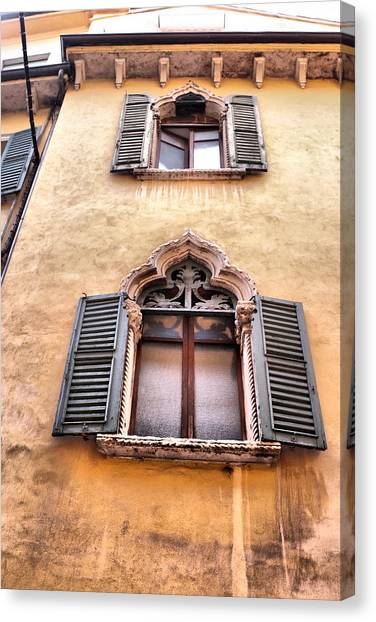 Italian Architecture Canvas Print by Greg Sharpe