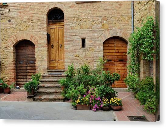 Italy - Door Eight Canvas Print