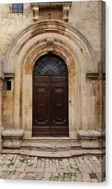 Italy - Door Eighteen Canvas Print