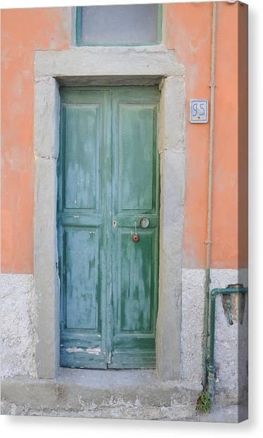 Italy - Door Five Canvas Print