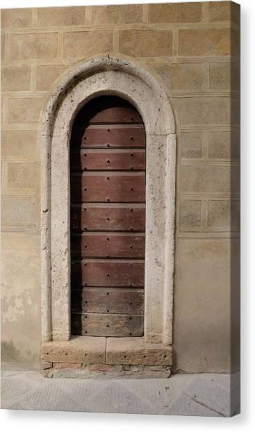 Italy - Door Ten Canvas Print