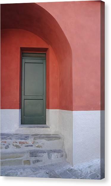 Italy - Door Two Canvas Print