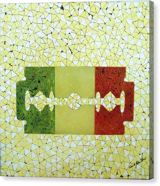 Italy Canvas Print by Emil Bodourov