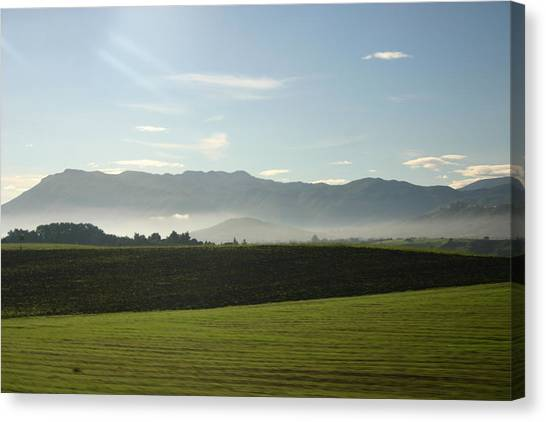Italy's Country Side Canvas Print by Dennis Curry