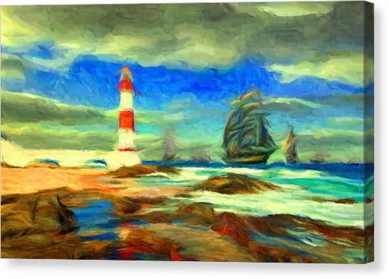Itapua Lighthouse 1 Canvas Print