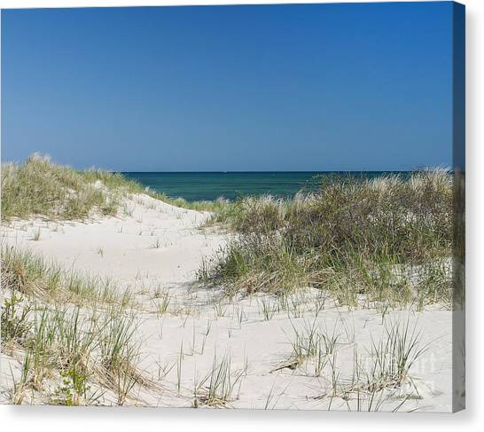 It's A Cape Cod Kind Of Day Canvas Print