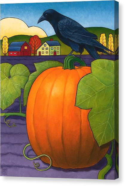 Its A Great Pumpkin Canvas Print