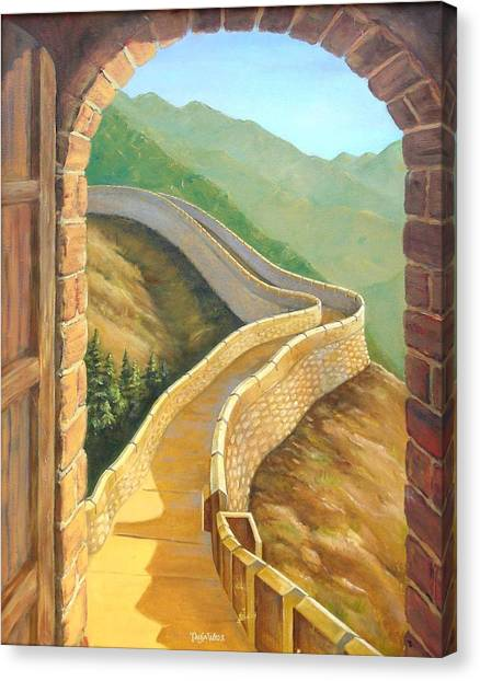 Great Wall Of China Canvas Prints (Page #3 of 22) | Fine Art America