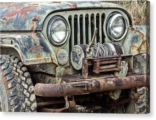 Gumbo Canvas Print - It's A Jeep Thing by JC Findley