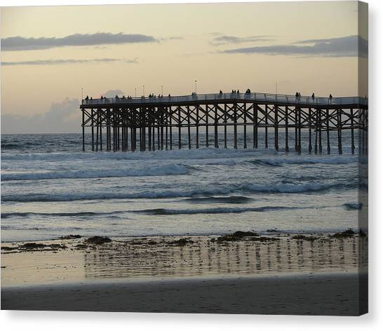 Canvas Print - It's A Pier Day by John Wilson