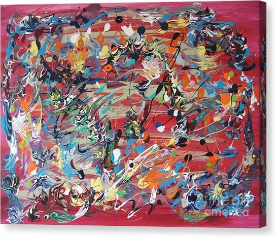 Its A Surprise Canvas Print by Levi Porter