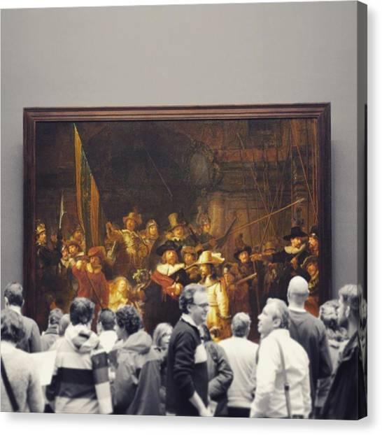 Rembrandt Canvas Print - It's Art. by Dennis Au