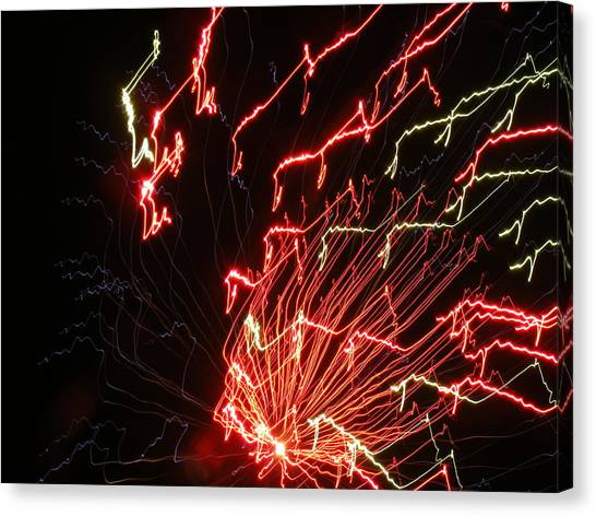 Its Electric Canvas Print by James and Vickie Rankin