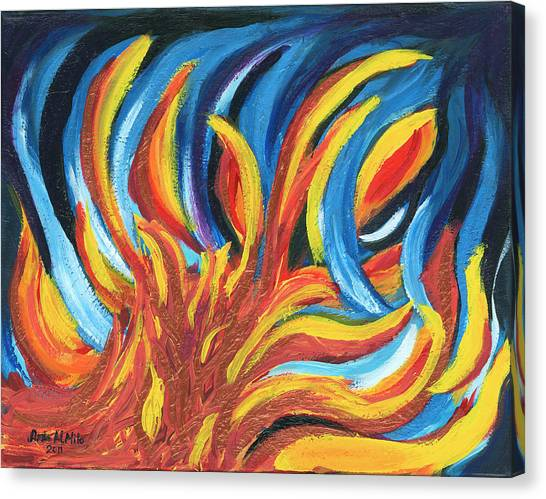 Its Elemental Canvas Print