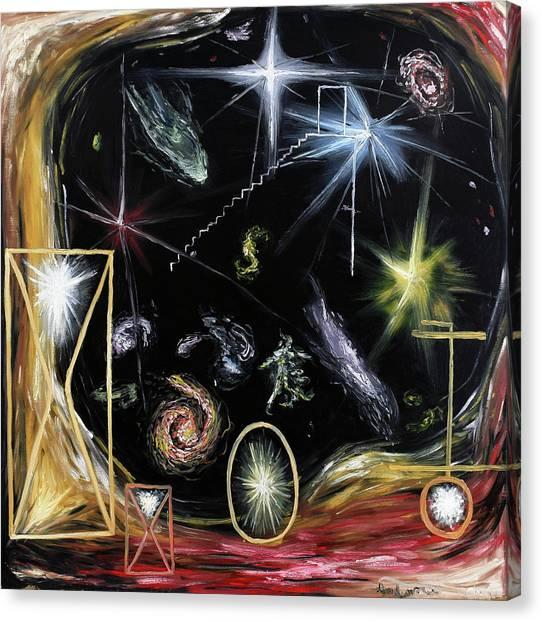 It's Full Of Stars  Canvas Print
