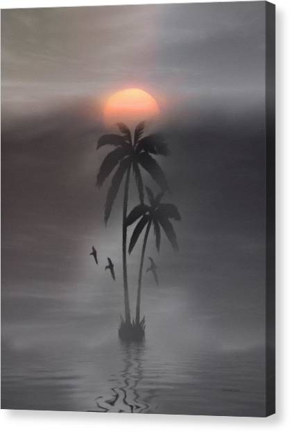 It's Just A Dream Canvas Print