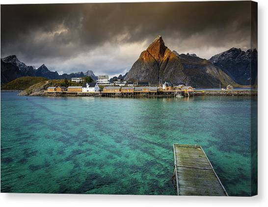 It's Not The Caribbean Canvas Print