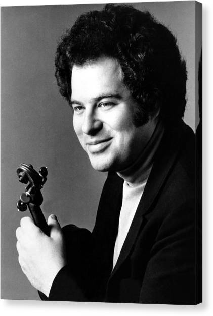 Violins Canvas Print - Itzhak Perlman, Ca. 1980s by Everett
