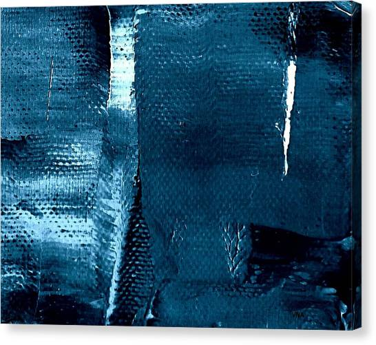 Canvas Print featuring the painting I've Got The Blues by VIVA Anderson