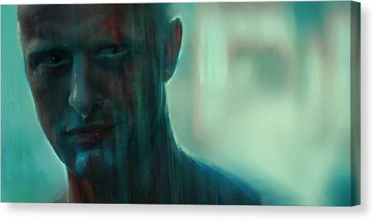 Bladerunner Canvas Print - I've Seen Things You People Wouldn't Believe by Scott Smith