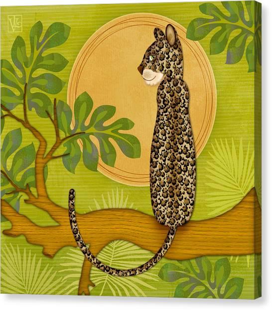J Is For Jaguar Canvas Print