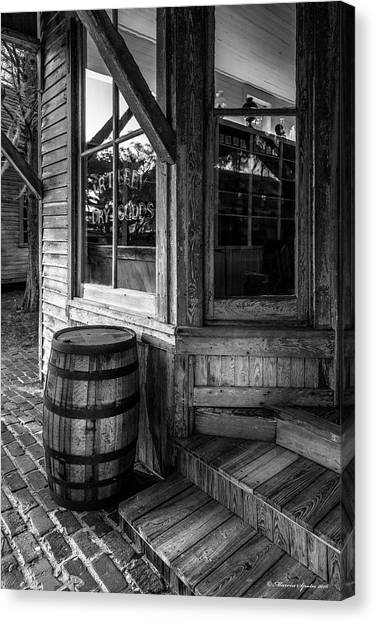 Grocery Store Canvas Print - J. R. Terry Dry Goods 1879 by Marvin Spates