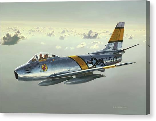 Jabby Jabara Canvas Print