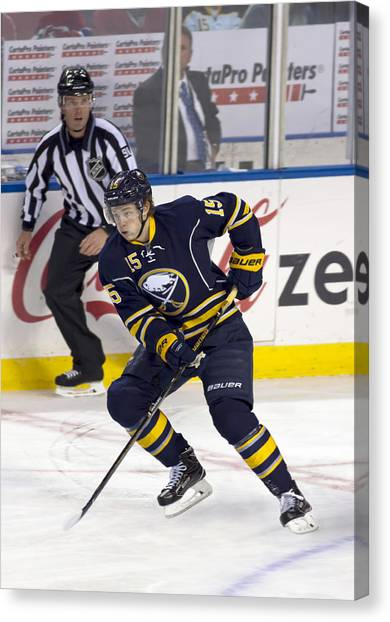 Buffalo Sabres Canvas Print - Jack 2 by Peter Chilelli