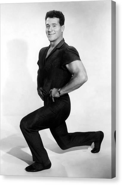 Jack Lalanne, 1960s Canvas Print by Everett